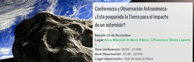 Conferencia y observación pública – Semana de la ciencia 2013