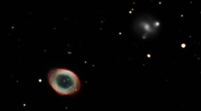 Nebulosa del anillo de Lira (M57)