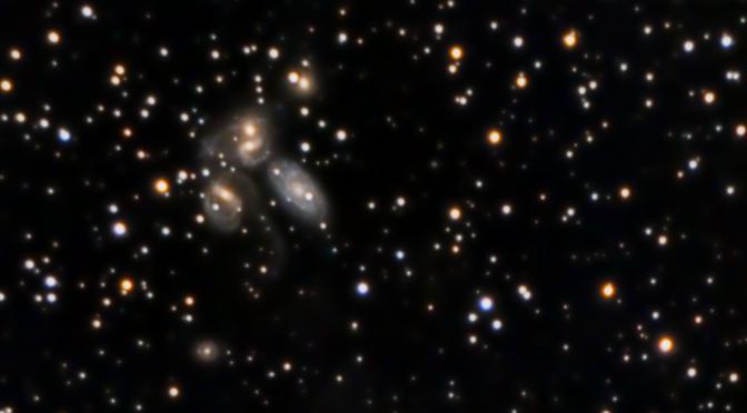 Quinteto de Stephan (NGC7317,  NGC7318a, NGC7318b, NGC7319, NGC7320)