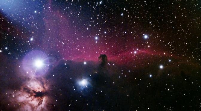 IC 434 (Cabeza de caballo y NGC 2024 (La Llama)
