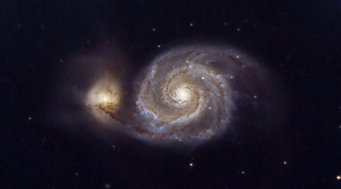 Galaxia del Remolino(Whirpool) M51